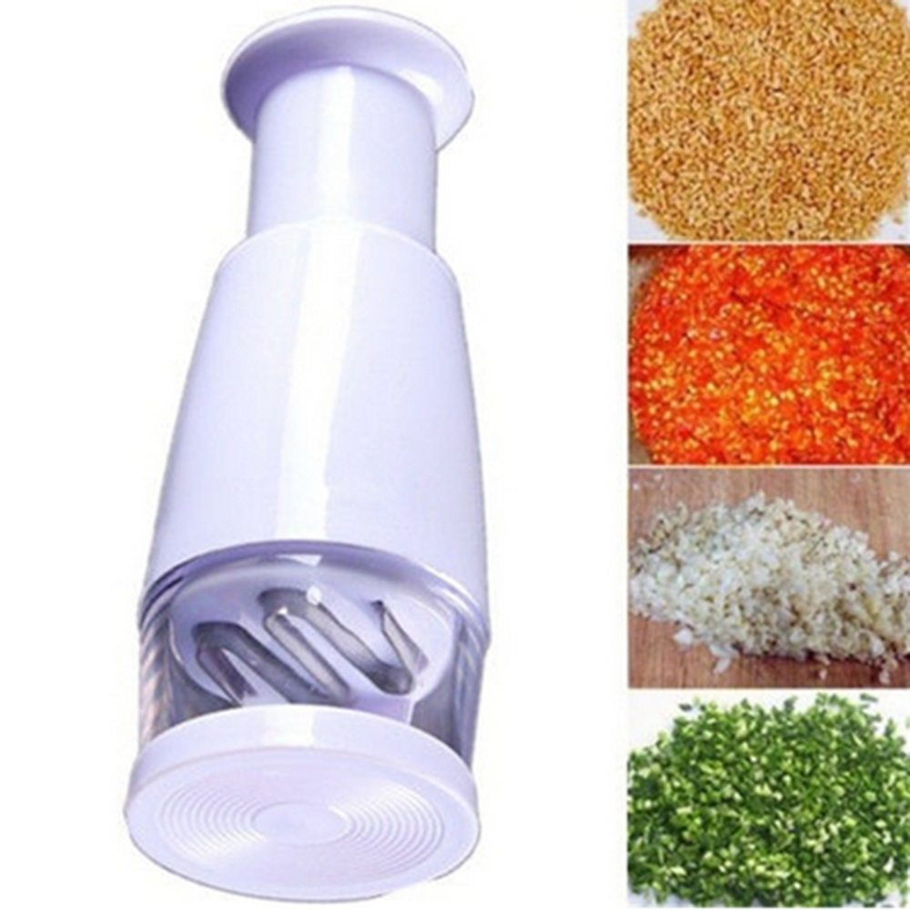 Multi-function Manual Onion Chopper Garlic Crusher Pressing Food Cutter Vegetable Slicer Peeler Mincer Kitchen Tools Durable New(China)