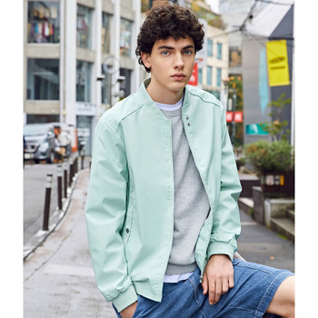 SEMIR Baseball jacket men 2020 spring new stand-up collar solid color casual jacket for man youth trend цена 2017
