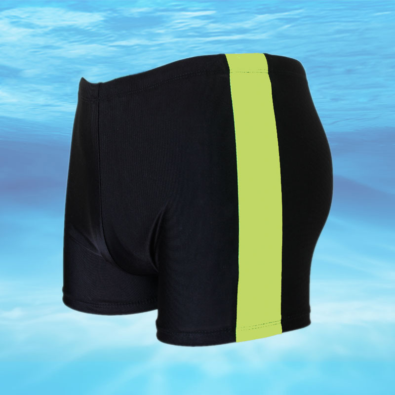 MEN'S Swimming Trunks Shipment Casual Boxer Men's Elasticity Swimming Trunks Comfortable Plus-sized Plus-sized Swimming Trunks O