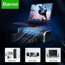 Llano игровая охлаждающая подставка для ноутбука вентилятор