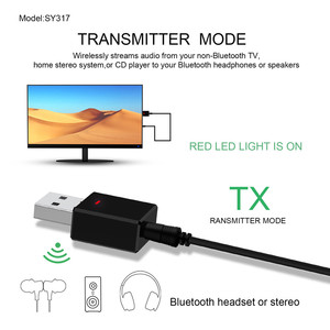 Image 2 - VIKEFON Bluetooth Receiver Transmitter Bluetooth 5.0 Dongle AUX RCA USB 3.5mm Jack Audio Wireless Adapter For TV PC Car Kit