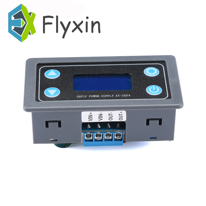 Adjustable Automatic Buck-boost Power Module CC CV Constant Voltage Constant Current LCD Display Charging Step Up Down XY-SEP4
