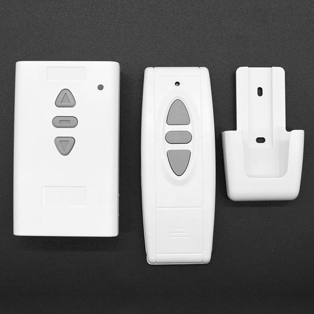 Wireless Remote + Receiver Controller for projector screen electric curtain electric pylon garage door extendable door pump etc