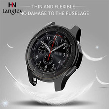 Samsung Galaxy Watch 46mm 42mm Watch Soft Protective Case Cover TPU Slim Smart Watch Case Frame Smartwatch Accessories(China)
