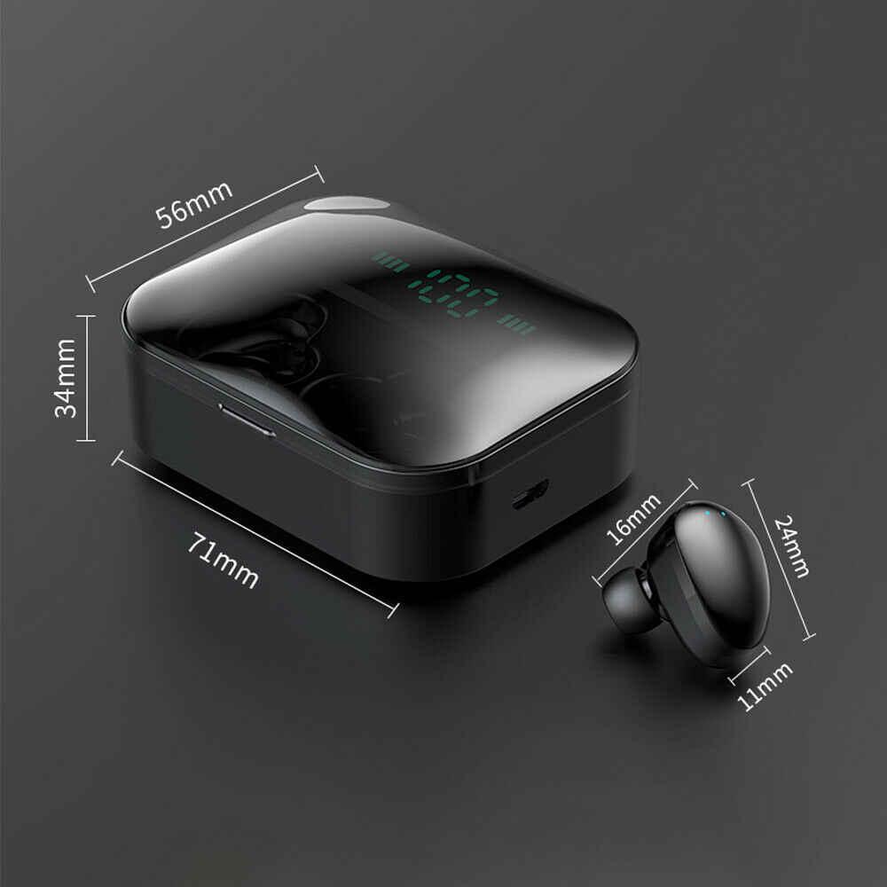 X7 TWS True Wireless Ultra Mini Bluetooth słuchawki sportowe słuchawki douszne Twins Stereo zestaw słuchawkowy z mikrofonem słuchawka na smartfon