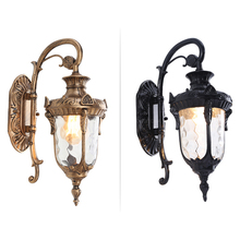 Vintage outdoor wall lights waterproof for garden gate wall lamp led exterior light industrial balcony facade wall sconce lights