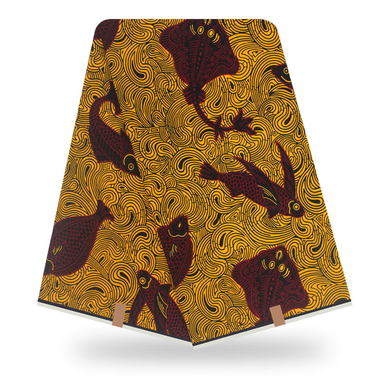 2020 Fashion Nederlands Design African Nigerian Ankara Holland High Quality Real Wax Colorful Print Fabric