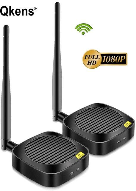 Prolongateur HD sans fil 50M 2.4G/5G 1080P, émetteur récepteur, Extension compatible Hdmi, convertisseur Audio vidéo DVD PC vers TV
