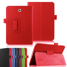 цена на Case For Samsung Galaxy Tab A 9.7 T550 T555 P550 P555 PU Leather Folding Cover For SM-T550 SM-T555/P550 9.7 inch Tablet Funda