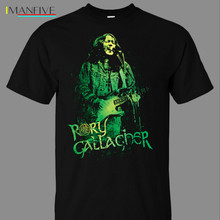 Rory Gallagher 82 T-Shirt -  Fashion New Summer Classical Solid Color Short Sleeve Loose Skull T Shirt