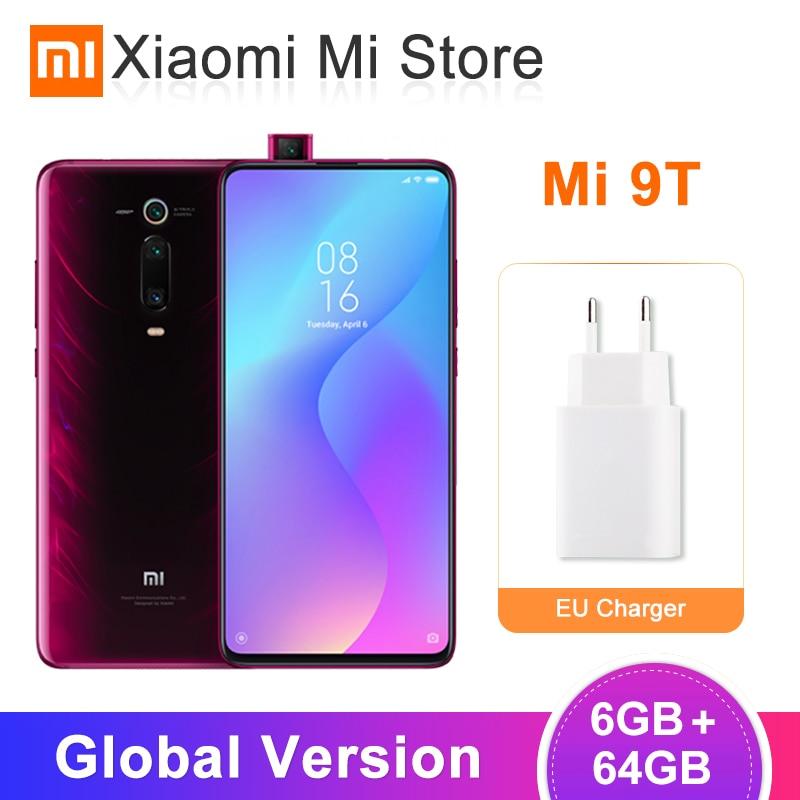 Nouvelle Version mondiale Xiao mi mi 9T (rouge mi K20) 6GB 64GB Snapdragon 730 Octa Core 6.39 ''AMOLED écran 48MP AI caméra 4000mAh NFC