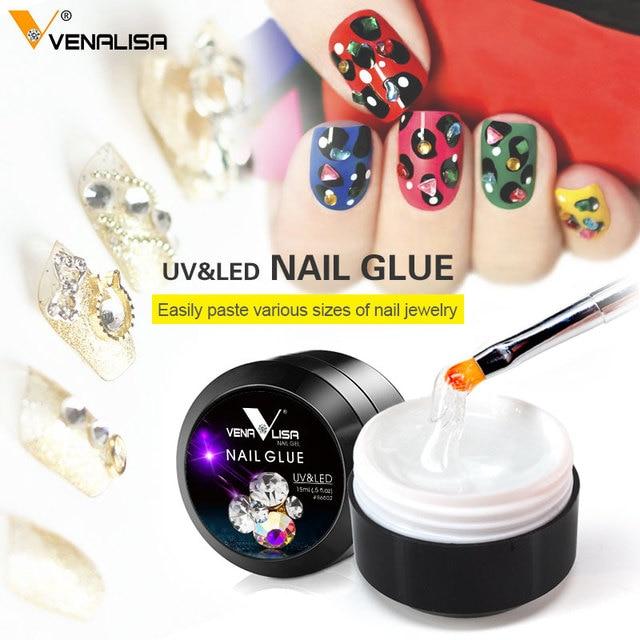 Venalisa Factory Sticky Gel Tranparent Clear Color Supplier Diamond Builder Gel Diamond Decoration Glue Stick Gel Firm Gel 2