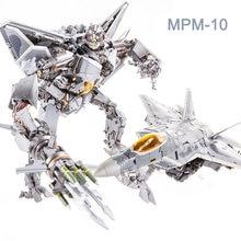 MPM-10 Transformation KO Starscream Red Spider Plane F12 Model MPM10 Movie Version Action Figure Collection Robot Toys Kids Gift