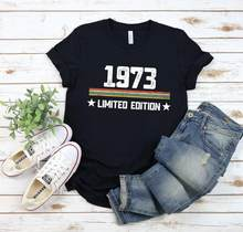 1973 vintage limited edition birthday gift for men and women/48th birthday gift ideas for him/for her 1973 vintage T-shirt