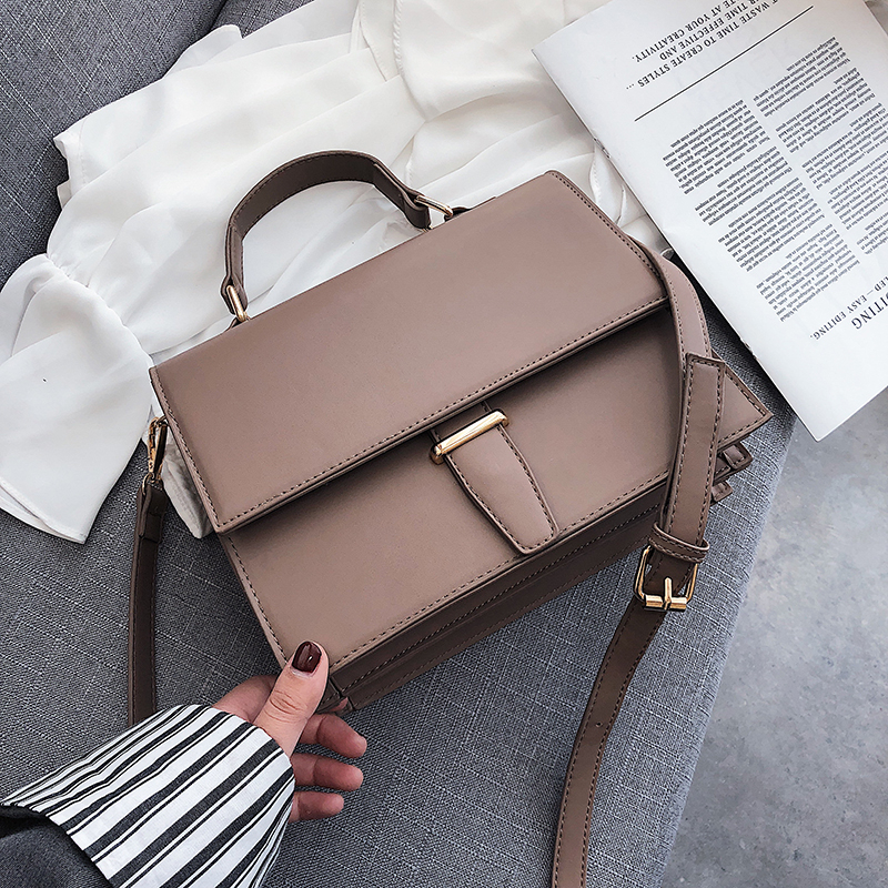 Fashion Brand Women Shoulder Bag Luxury 2019 Designer Small Crossbody Bags PU Leather Purses And Handbags Travel Messenger Bag-in Shoulder Bags from Luggage & Bags