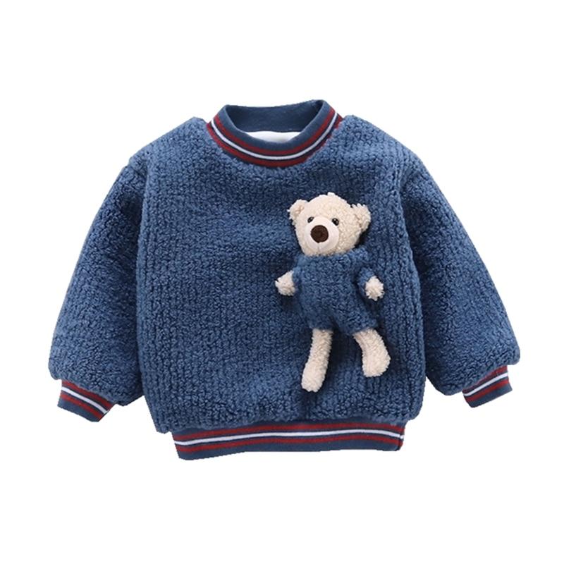 15.56US $ 43% OFF New Autumn Winter Children Fashion Clothes Kids Boys Girls Cartoon Sweater Baby To...