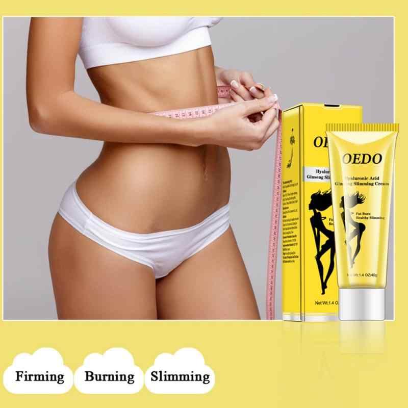 Oedo Hyaluronzuur Ginseng Afslanken Crème Whitening Cream Verminderen Cellulitis Gewichtsverlies Vetverbranding Afslanken Crème TSLM2