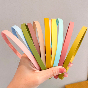 5PCS/Set New Women Girls Cute Candy Colors Basic Hairbands Sweet Simple Headband Hair Hoop Fashion Hair Accessories