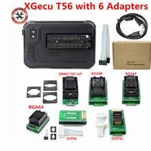 Programador universal original de xgecu t56 com adaptador bga63 bga64 bga169 super desempenho alta velocidade 24/25/26/93 série eeprom