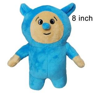 Image 5 - 2 unidades/lote de muñecos de peluche de Baby TV, Billy y Bam, muñecos de peluche suaves para niños, regalo de cumpleaños