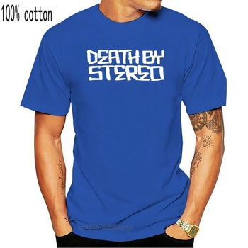 DEATH BY STEREO American Hardcore Punk Band Mena T-Shirt 100% Cotton image