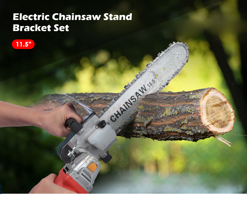 11.5 Inch Portable Logging Electric Bar Chain Saw Stand Bracket ...