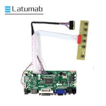 Latumab Controller Board for LP173WD1-TLA1 LP173WD1-TLA2 LP173WD1-TLA3 LP173WD1-TLA4 LCD Display 1600×900 HDMI+VGA Driver Board