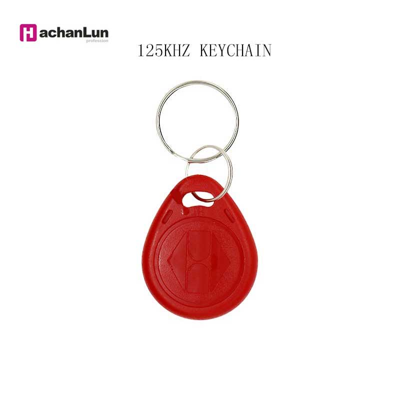 5/10PCS EM4305 T5577 Key Ring Induction Token Repeat Erasing RFID 125KHZ Label Copy Rewritable Keychain