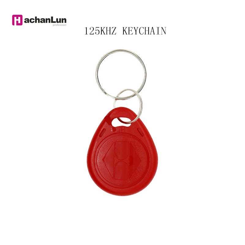 5/10PCS EM4305 T5577 Key Ring Induction Token Repeat Erasing RFID 125KHZ Label Copy Rewritable Keychain