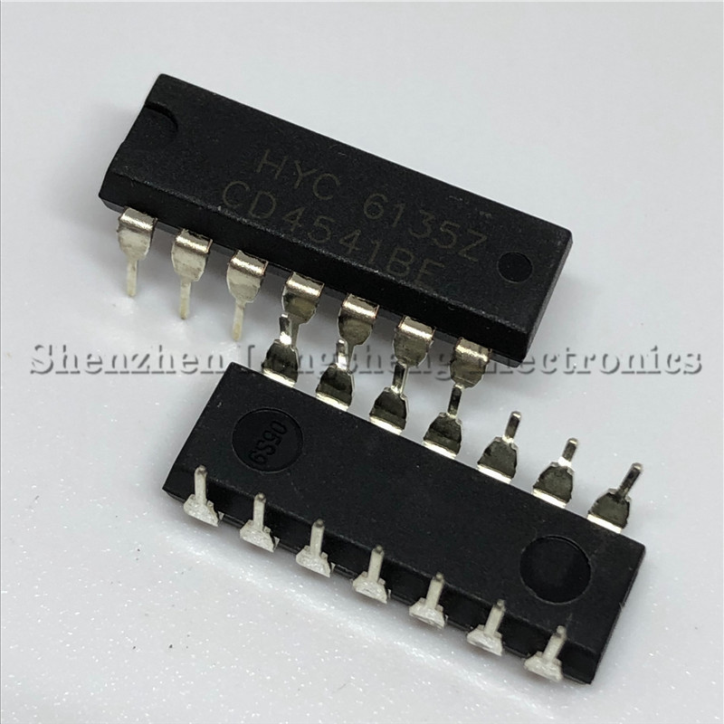 10PCS/LOT NEW <font><b>CD4541BE</b></font> CD4541 DIP-14 Programmable Timer Chip image