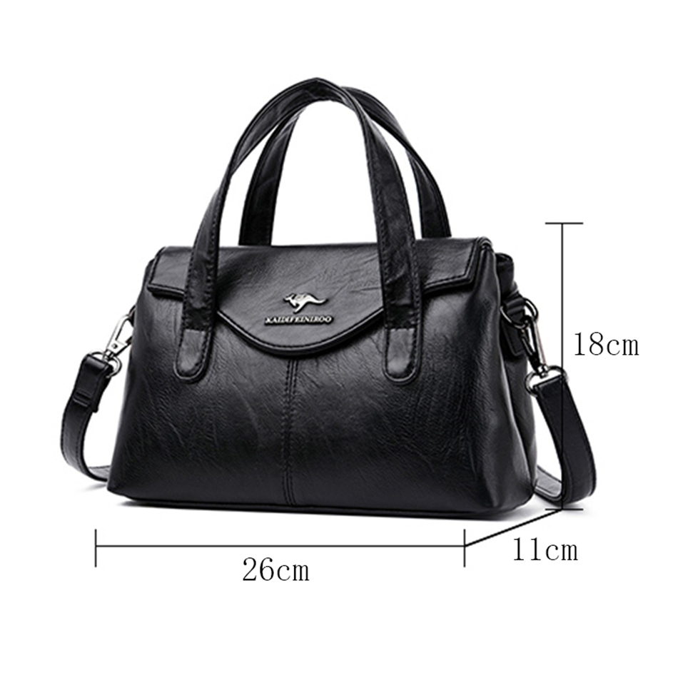 Casual High Quality Pu Leather Handbags for Women 2020 Female Crossbody Shoulder Bags Luxury Handbags Women Bags Designer Sac