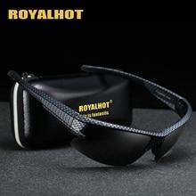 RoyalHot mężczyźni kobiety spolaryzowane siatka diamentowa rama sportowe okulary przeciwsłoneczne Vintage okulary okulary retro odcienie óculos mężczyzna 900177