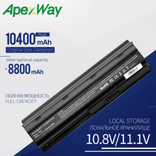 Buy 10400mAh laptop battery for HP PAVILION DM4 DV3 DV5 DV6 DV7 G32 G62 G42 G6 for Compaq Presario CQ32 CQ42 CQ43 CQ56 CQ57 CQ62 directly from merchant!