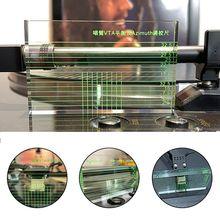 LP проигрыватель виниловых пластинок измерительный Phono тонарм азимут VTA/картридж линейка сумка 24BB