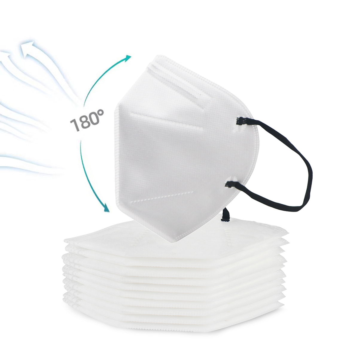 Fedex Fast Shipping KN95 Masks Dustproof Anti fog And Breathable Face Masks 95 Filtration Anti Virus