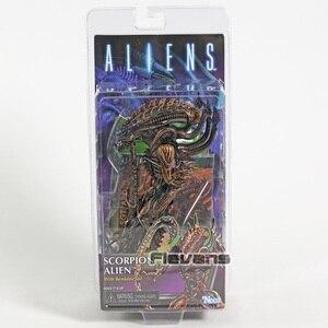 """Image 5 - NECA yabancılar uzay yılan Alien akrep Alien deniz Apone 7 """"Action Figure AVP modeli koleksiyonu oyuncak"""