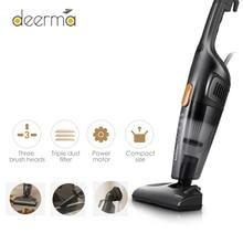 الأصلي Deerma المحمولة يد مكنسة كهربائية المنزلية الصامت مكنسة كهربائية قوية شفط المنزل الشافطة مجمع الغبار