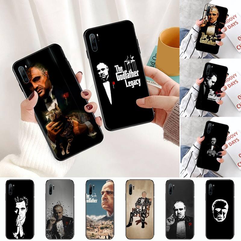Colorful Godfather Marlon Brando Phone Case For Huawei P9 P10 P20 P30 Pro Lite smart Mate 10 Lite 20 Y5 Y6 Y7 2018 2019