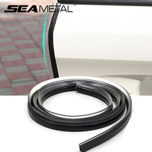 Car Door Edge Protector Strip 10m Auto Doors Seal Strips Anti Scratch Door Guard Trunk Hood Protective Sealant Trim Accessories