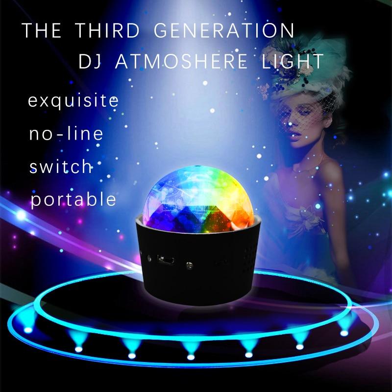 Colorful DJ RGB Light Disco Party Car Interior Atmosphere Lamp  For Discovery Sport Range Rover Sport Evoque L322 Vogue Velar