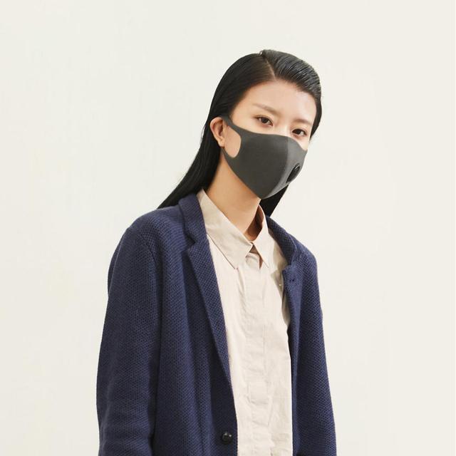 Xiaomi SmartMi Black PM2.5 Mouth Mask Anti Pollutio Dust Mask Bacteria Proof Flu Face Masks Filter Respirator with Breath Valve 4