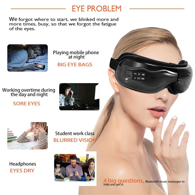 Dispositivo de Vibração elétrico Massageador Olho Olhos