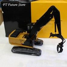 Коллекционная 1/50 Масштаб литья под давлением гусеничного типа захват древесины грузовик Инженерная машина TR40002 модель игрушки 568LL
