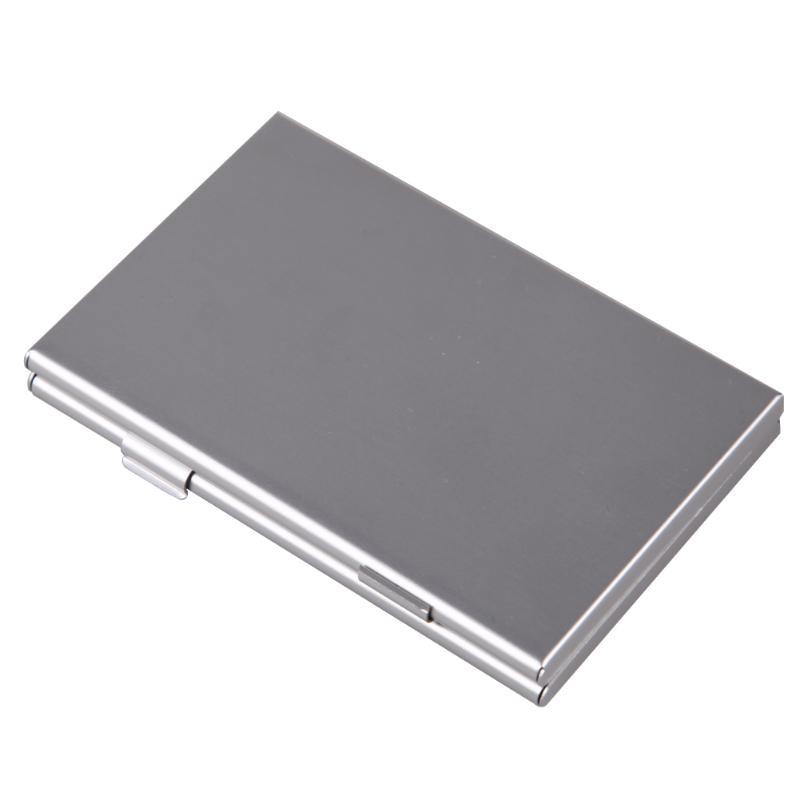 Metal Aluminum Memory Card Protecter Box Storage Case Holder 6x SD/SDHC/MMC