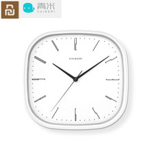 Youpin Chingmi Wall Clock Ultra quiet Ultra precise Good Design three years of battery For Free Life QM GZ001