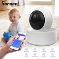 SONOFF GK 200MP2 B 1080P HD אלחוטי Wifi IP אבטחת המצלמה IR ראיית לילה Tow דרך אודיו מעקב מצלמות תינוק צג-במודולים אוטומטיים לבית מתוך מוצרי אלקטרוניקה לצרכנים באתר