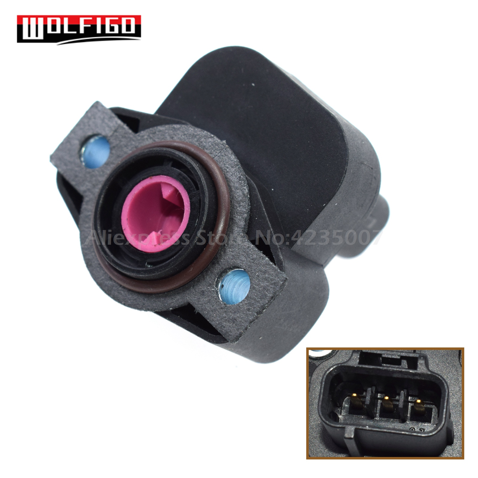 WOLFIGO New Throttle Position Sensor TPS For Chrysler Dodge Plymouth 4874371,4606083 4874371AB 4874371AC 4874371AF 4686360