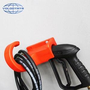 Image 5 - Volodymyr pistolet na wodę pod wysokim ciśnieniem wieszak myjnia samochodowa wspornik naścienny myjnia hak narzędzia do wężą uchwyt do przechowywania