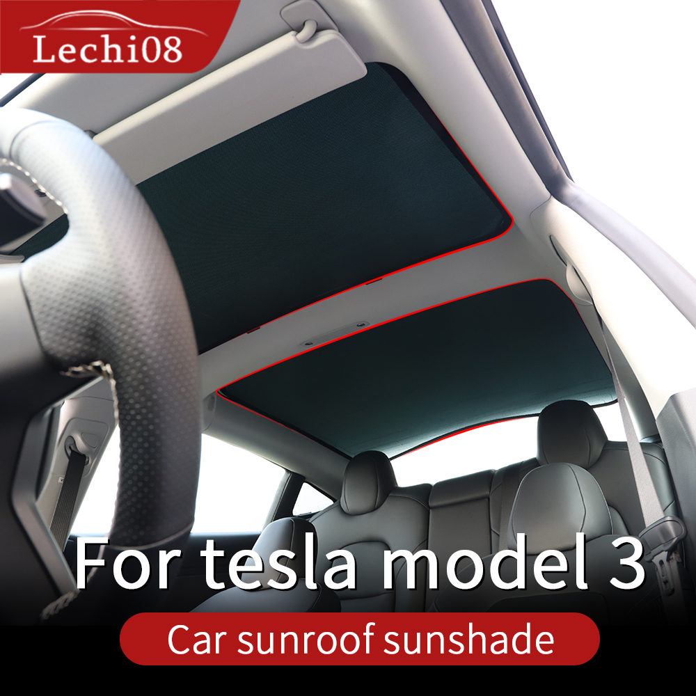 Skylight Curtain For  Tesla Model 3 Sunshade Tesla Model 3 Accessories/car Accessories Model 3 Tesla Three Tesla 3 Tesla Model3