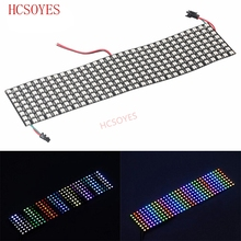 16x16 8x32 8x8 led Pixels WS2812B Digital Flexible LED Panel Individually addressable Full Dream Color DC5V